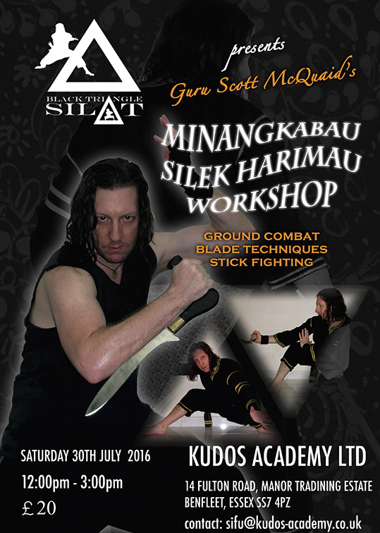 Guru Scott McQuaid's 2016 Silat Weapons Seminar in Benfleet, UK