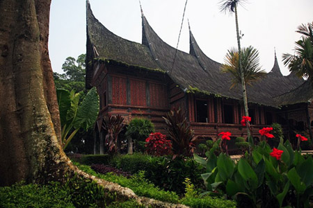 Traditional Minangkabau House