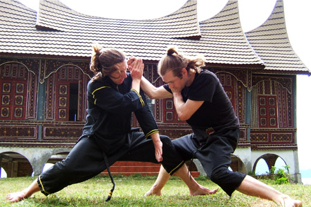 Guru Scott McQuaid and Pesilat Ian Llewellyn